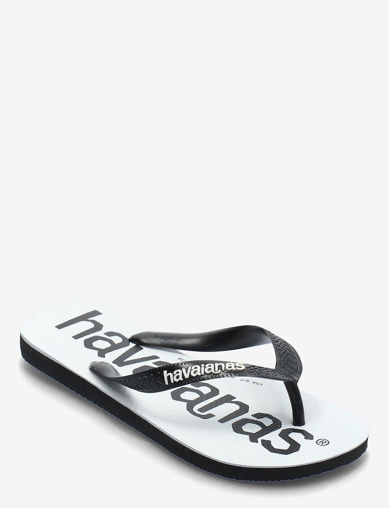Havaianas - Top Logomania - teen slippers - black/black 1069 - 0