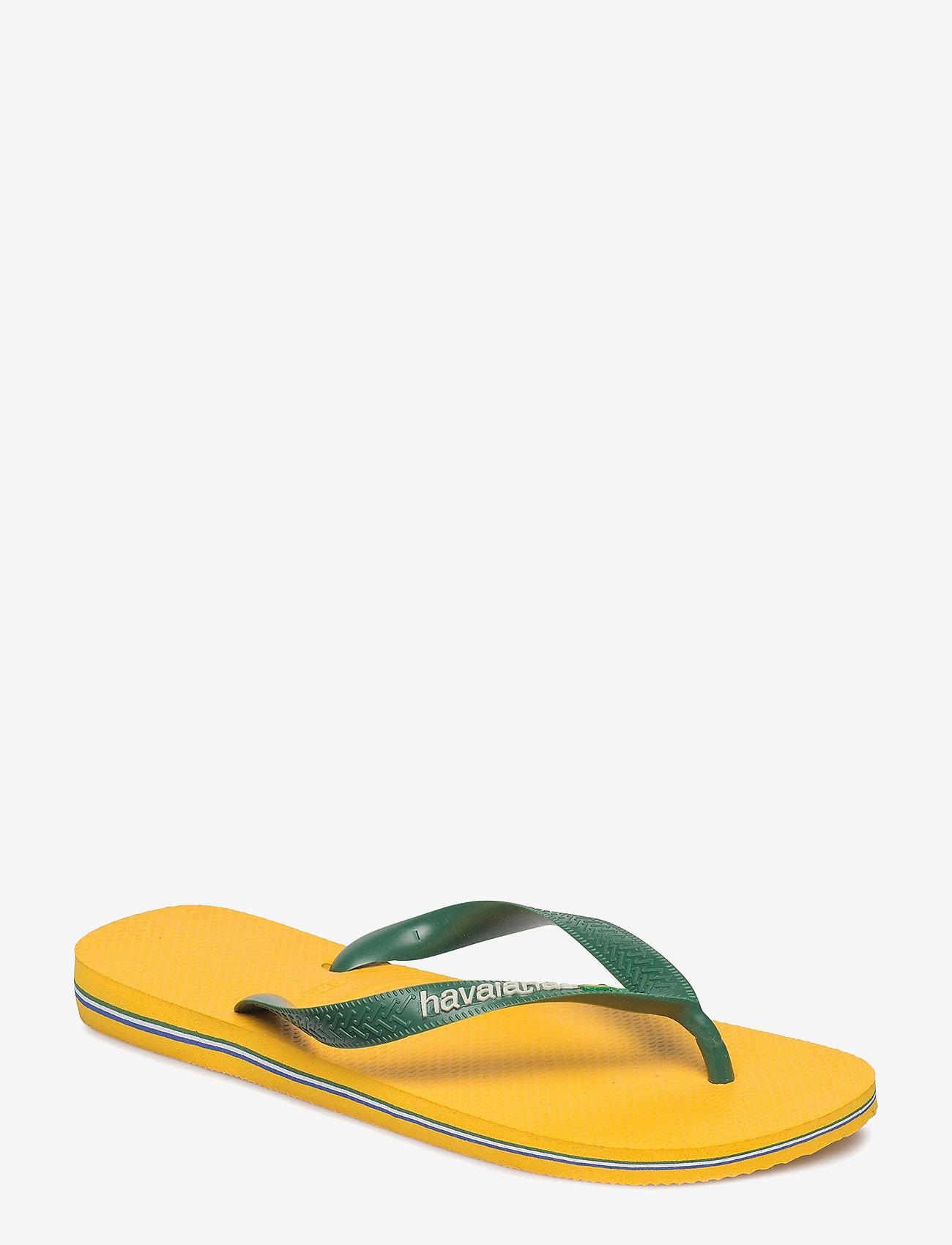 Havaianas - Hav Brazil Logo - klipklapper & badesko - banana yellow 1652 - 0