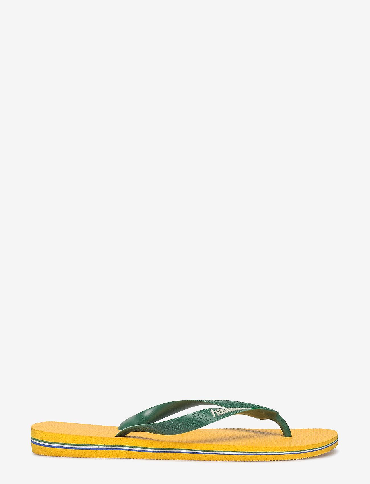 Havaianas - Hav Brazil Logo - slipper - banana yellow 1652 - 1
