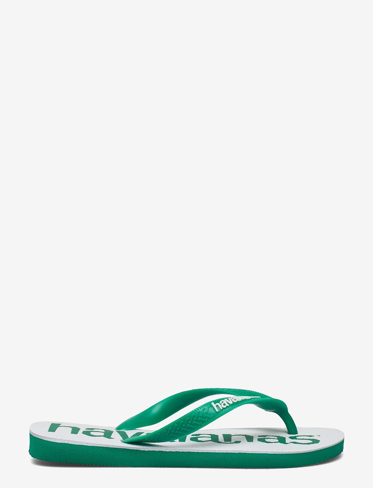 Havaianas - Top Logomania 2 - teen slippers - tropical green 2078 - 1