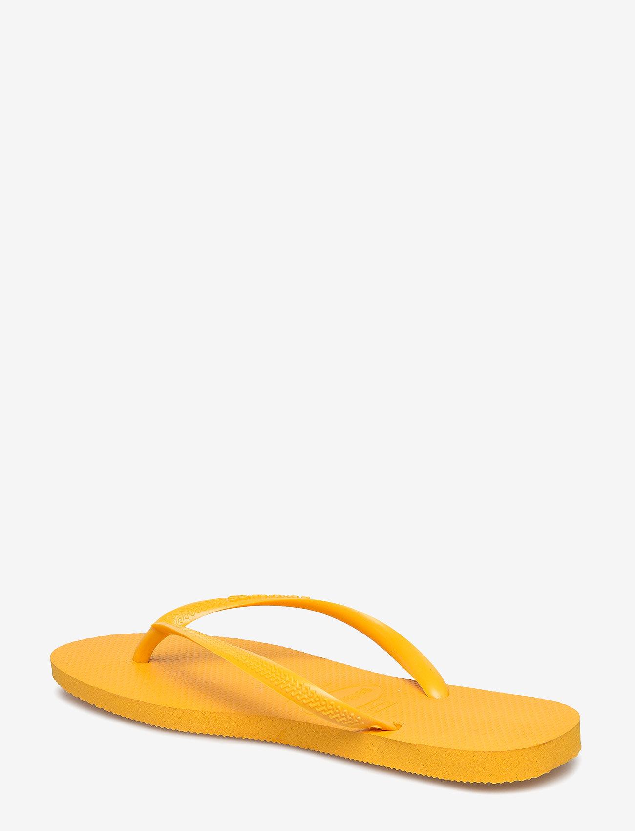 Havaianas Hav Kids Slim - Sandalen BANANA YELLOW 1652 - Schuhe Billige