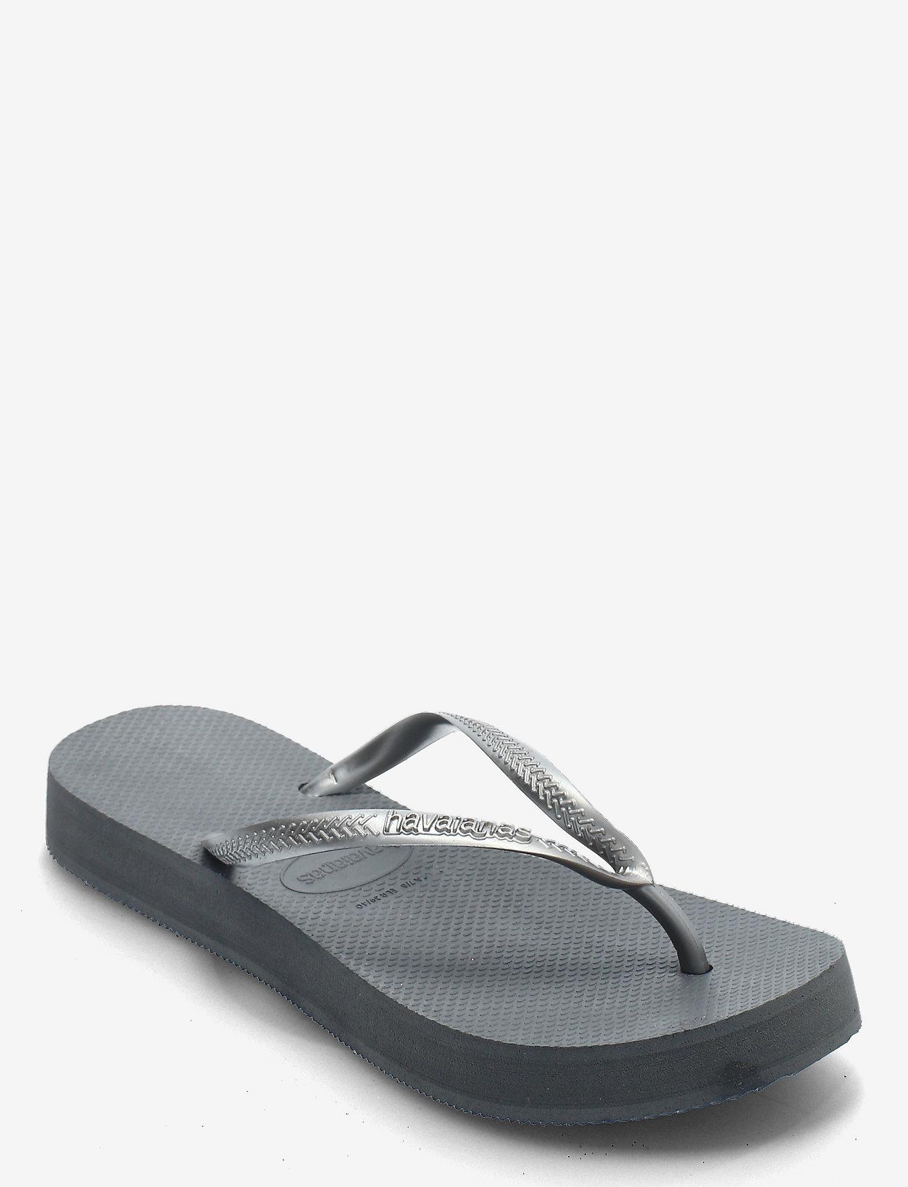 Havaianas - Slim Flatform - teenslippers - steel grey 5178 - 0