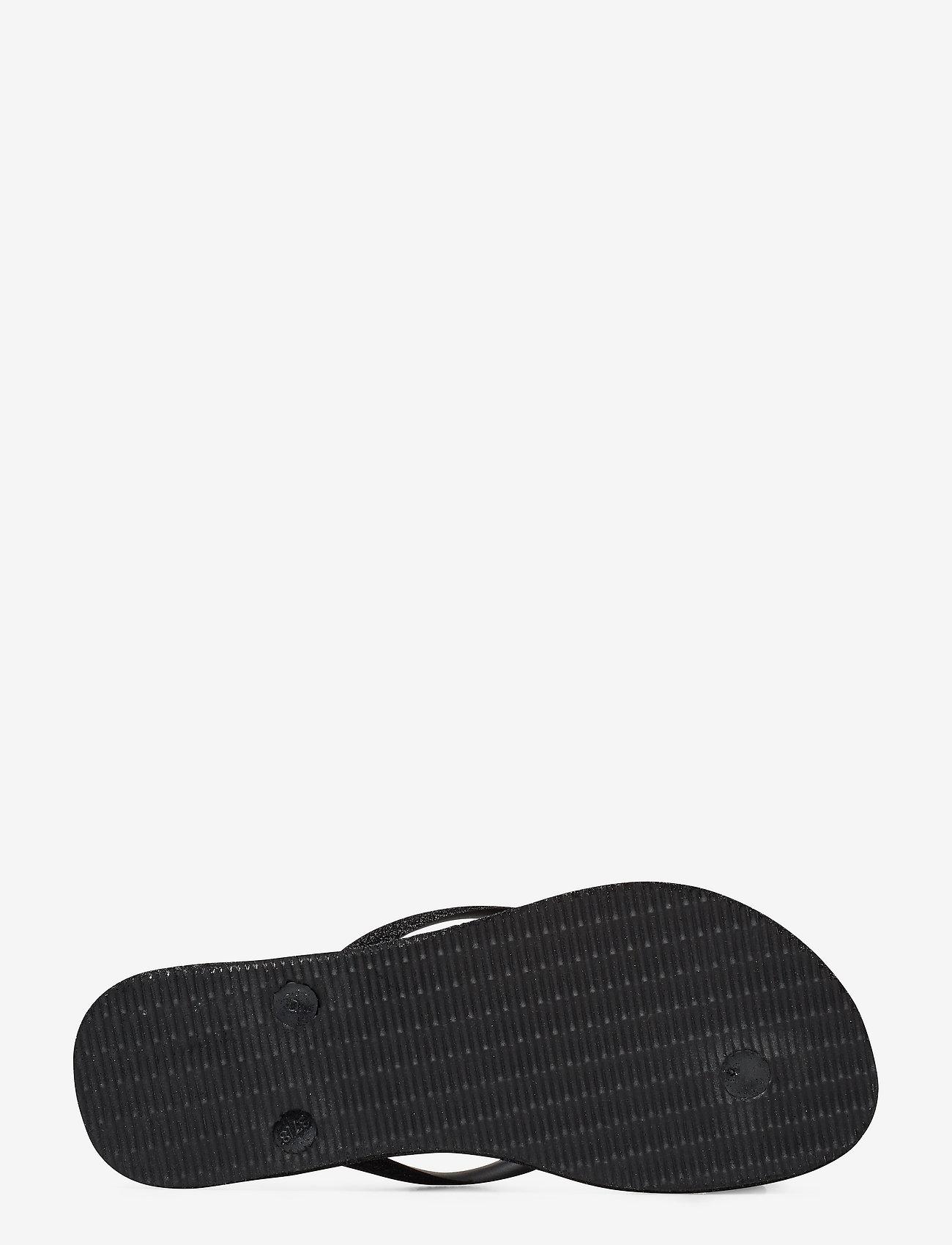 Hav Slim Sparkle (Black 0090) (26 €) - Havaianas gelgb