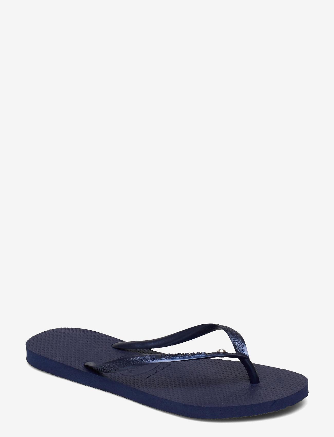 Havaianas - Slim Crystal SW II - teenslippers - navy blue 0555 - 0