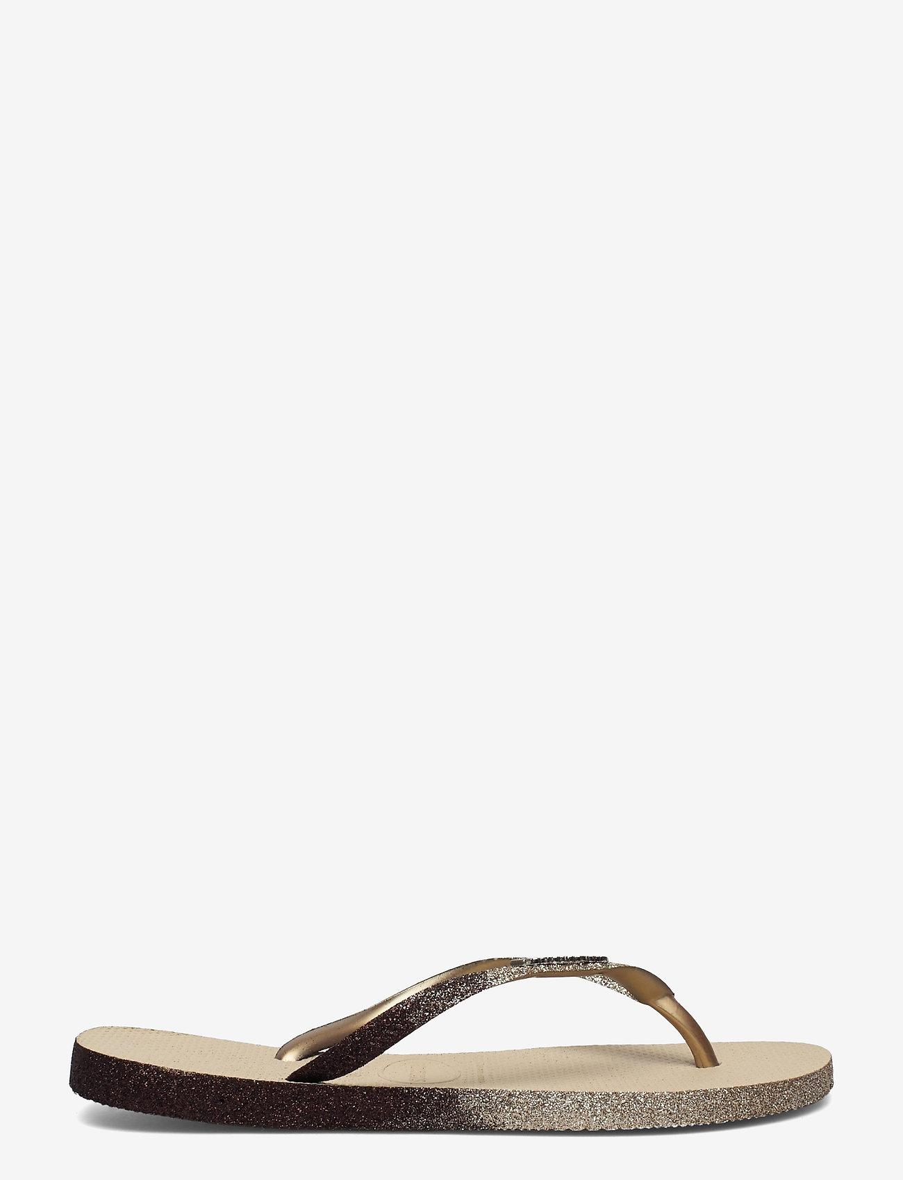 Havaianas - Sllim Sparkle II - teenslippers - sand grey 0154 - 1