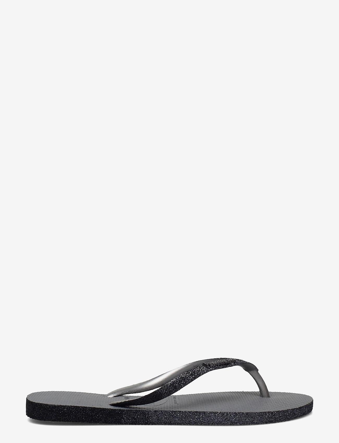 Havaianas - Sllim Sparkle II - teenslippers - steel grey 5178 - 1