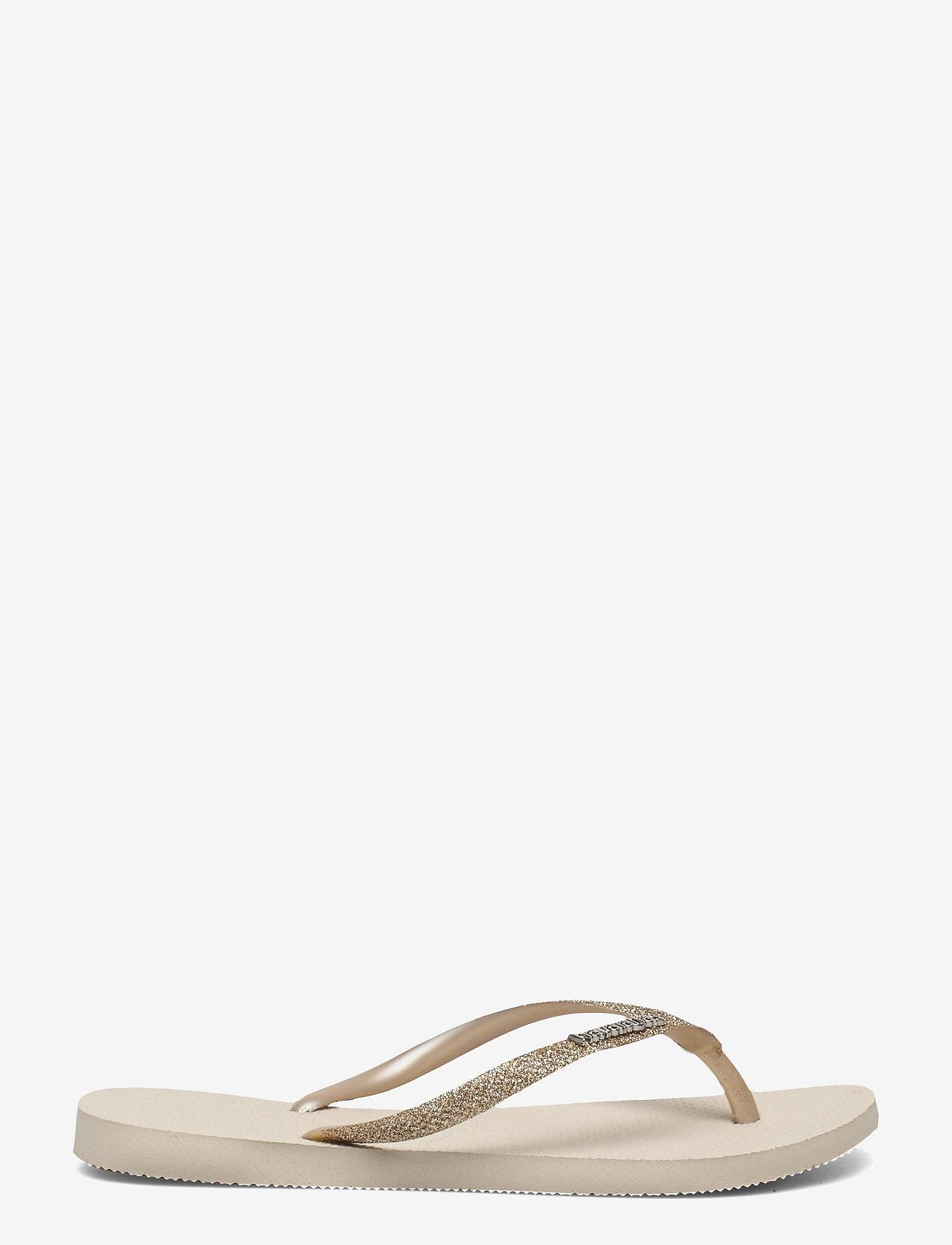 Havaianas - Slim Glitter II - teenslippers - beige 0121 - 1