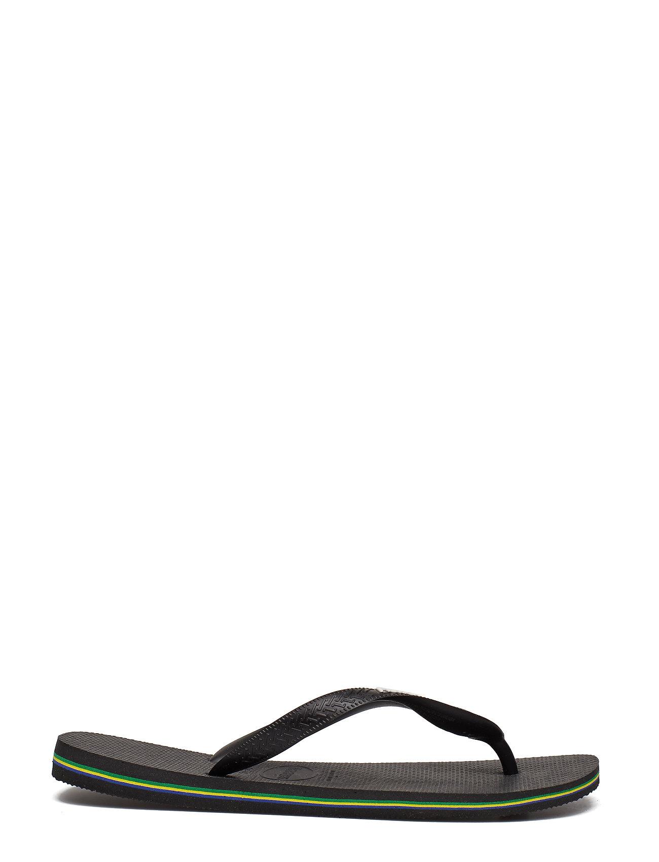 Havaianas - Hav Brazil Logo - slipper - black/black 1069 - 1