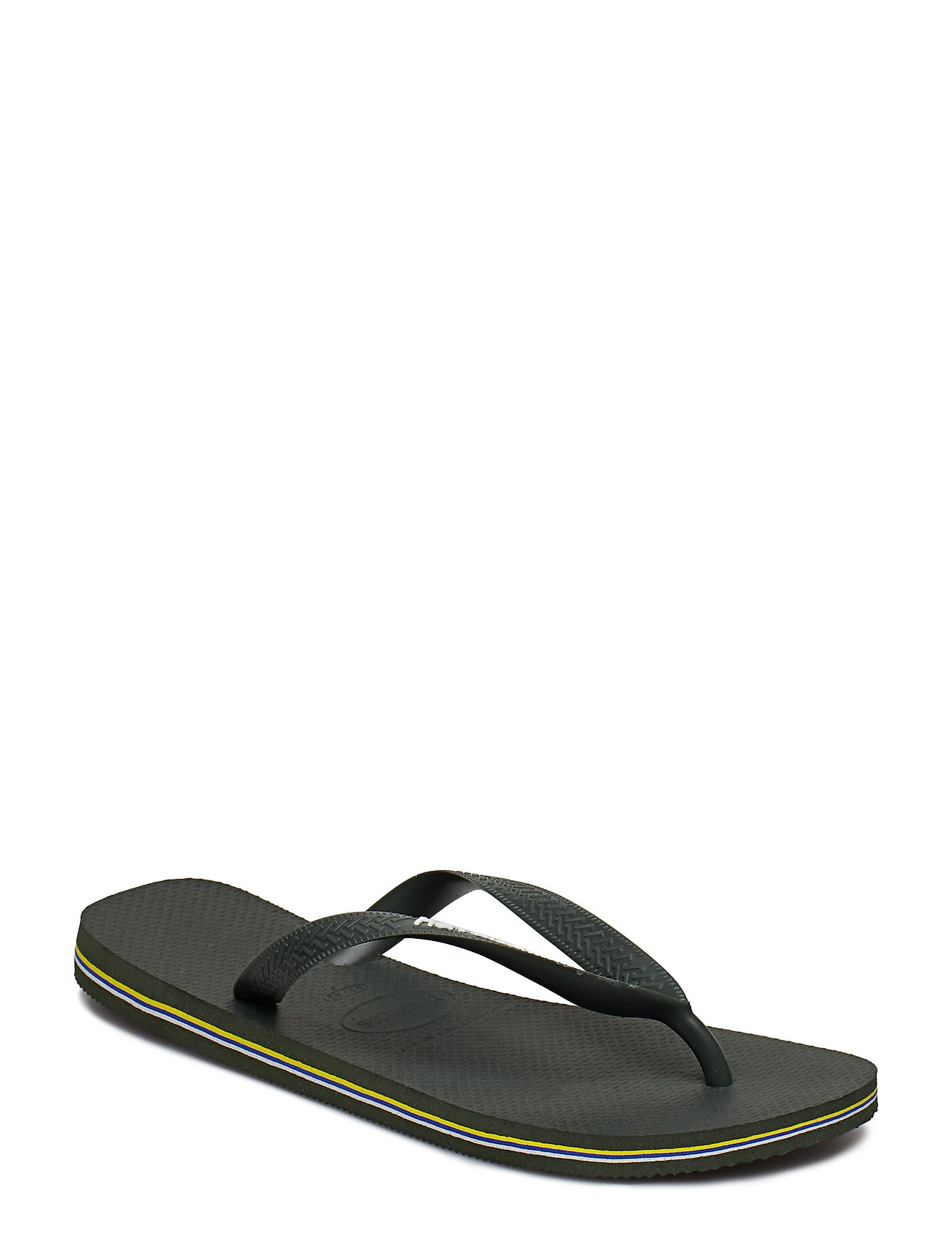 Havaianas - Hav Brazil Logo - slipper - green olive 4896 - 0