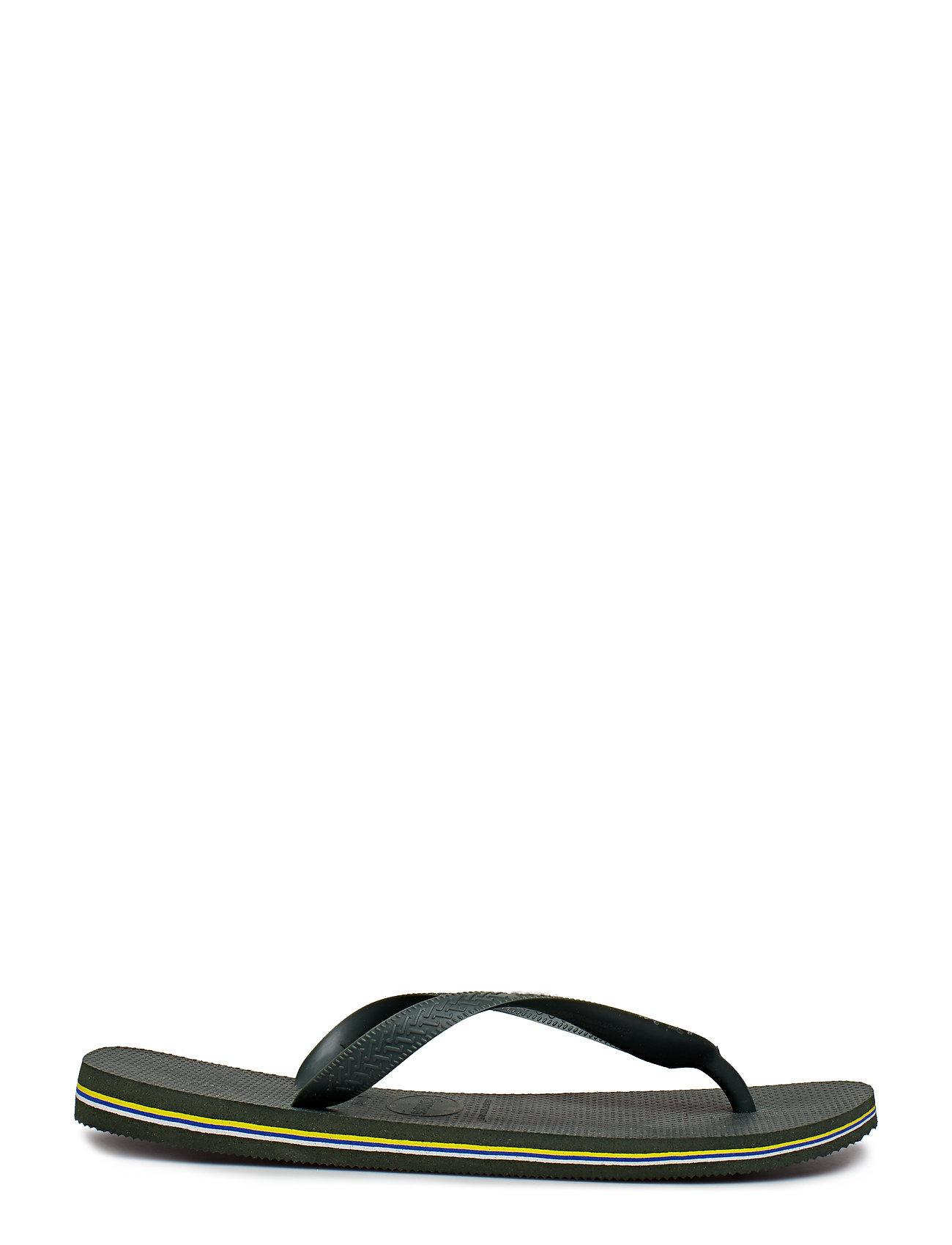 Havaianas - Hav Brazil Logo - slipper - green olive 4896 - 1