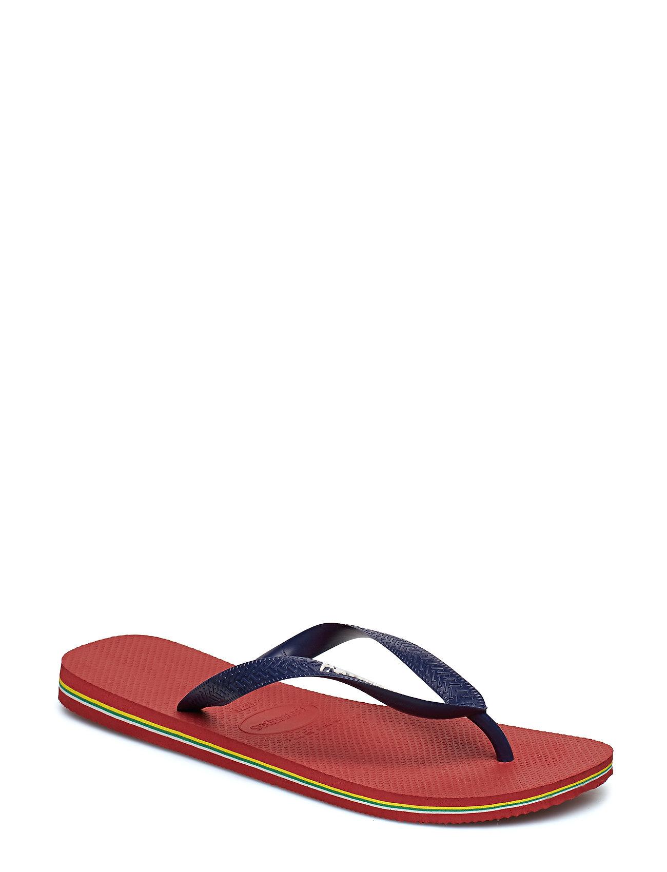 Havaianas - Hav Brazil Logo - slipper - red 1440 - 0
