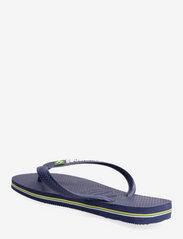 Havaianas - BRASIL LOGO FLIP FLOP - slipper - blue - 2