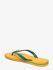 Havaianas - Hav Brazil Logo - klipklapper & badesko - banana yellow 1652 - 4