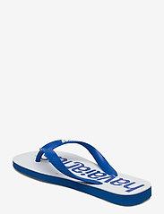 Havaianas - Top Logomania 2 - teen slippers - blue star 3847 - 2