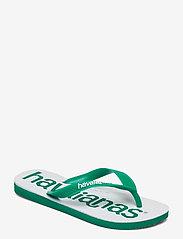 Havaianas - Top Logomania 2 - teen slippers - tropical green 2078 - 0
