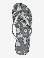 Havaianas - Hav Slim Animals - teenslippers - grey aco/silver 1765 - 3