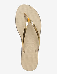 Havaianas - Hav You Metallic - teenslippers - sand gr/lt gold 2719 - 3