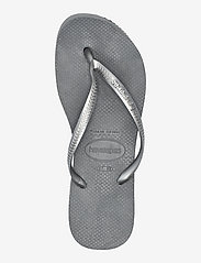 Havaianas - Slim Flatform - teenslippers - steel grey 5178 - 3