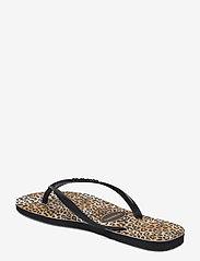 Havaianas - Slim Leopard - teenslippers - black/black 1069 - 2