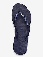 Havaianas - Slim Crystal SW II - teenslippers - navy blue 0555 - 3