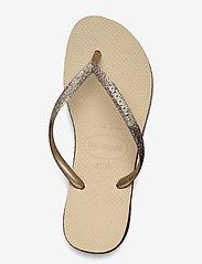 Havaianas - Sllim Sparkle II - teenslippers - sand grey 0154 - 3