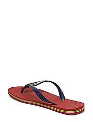 Havaianas - Hav Brazil Logo - slipper - red 1440 - 2