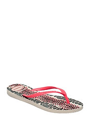 Hav Slim Animals - BEIGE/CORAL NEW 5980