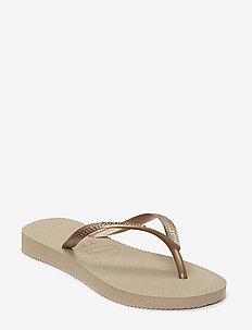 SLIM FLIP FLOP - slipper - sand