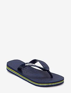 BRASIL LOGO FLIP FLOP - slipper - blue