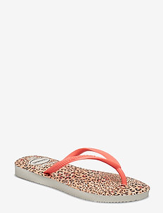 Hav kids Slim Animals - WHITE/CORAL NEW 6577