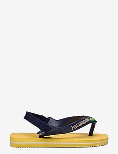 Hav Baby Brasil Logo - flip flops & watershoes - gold yellow 0776