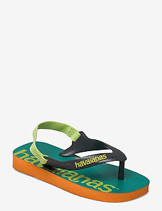 Logomania - slipper - begonia orange 5735