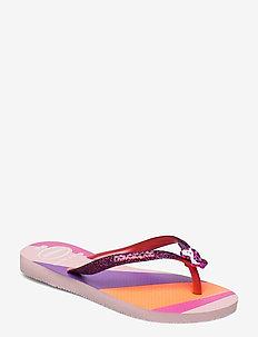 Slim Glitter II - slipper - candy pink 5179