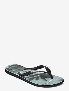 Hav Top Photoprint - flip flops - black/steel gre 7663