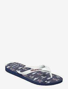 Top Nautical - flip flops - navy/white whit 6359