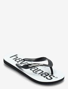 Top Logomania - flip flops - black/black 1069