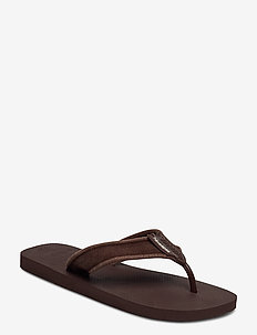 Hav Urban Basic II - flip-flops - dark brown 0727