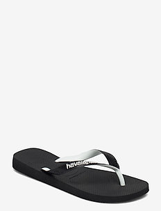 Top Mix - teen slippers - black/black 1069