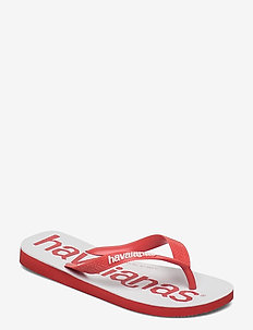 Top Logomania 2 - teen slippers - red crush 5778