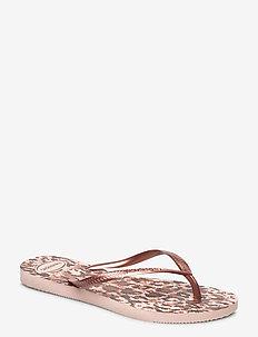 Hav Slim Animals - flip-flops - ballet rose 0076