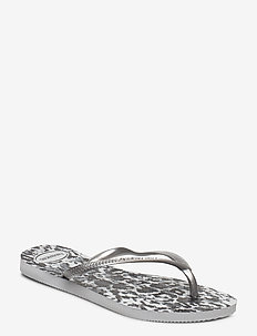 Hav Slim Animals - flip flops - grey si/ice gre 3499