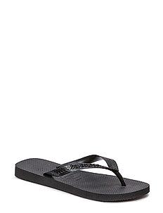 Top - flip-flops - black