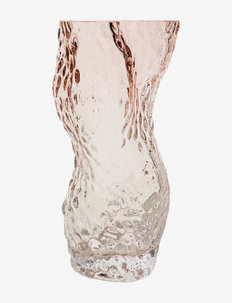 Ostrea Rock Glass Vase - Pale pink - osta hinnan perusteella - pale pink