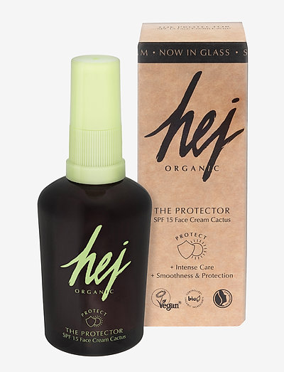 HEJ ORGANIC THE PROTECTOR SPF15 FACE CREAM - kasvot - no colour