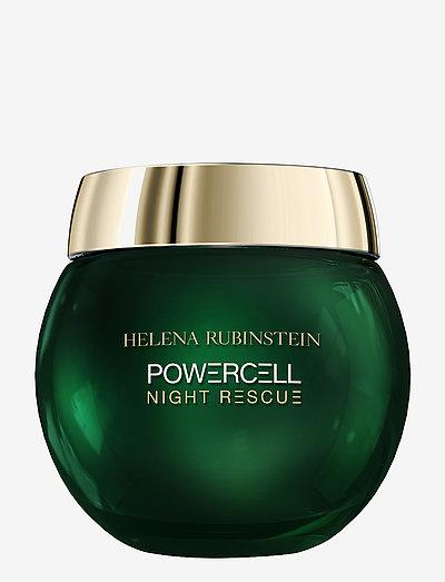 Powercell Night Rescue Cream 50 ml - ansiktsvård - clear