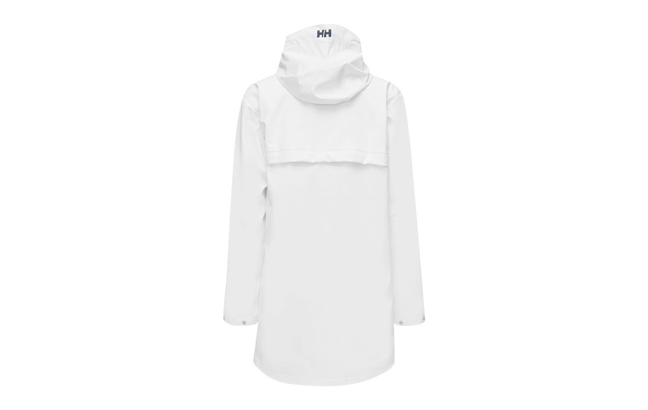 001 Helly Jacket W 100 Hansen Dunloe White Polyester fI7I8S
