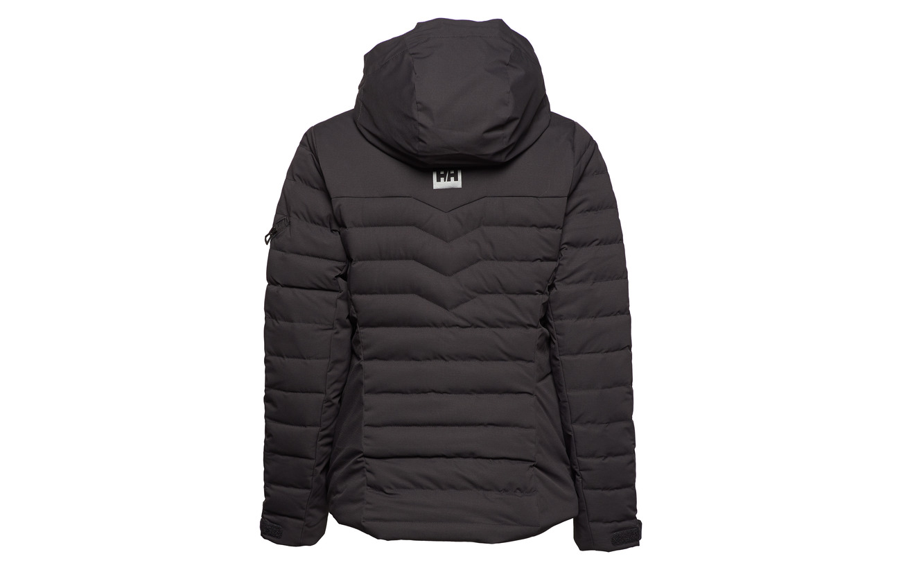 Thermoplasticpolyurethane Jacket 100 Helly Devant Hansen Black Limelight W Polyester Derrière qHHPwB