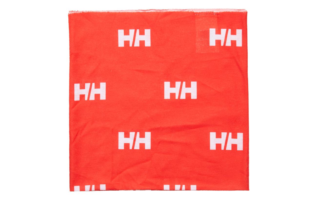 Helly Hansen HH NECK - ALERT RED HH LOGO