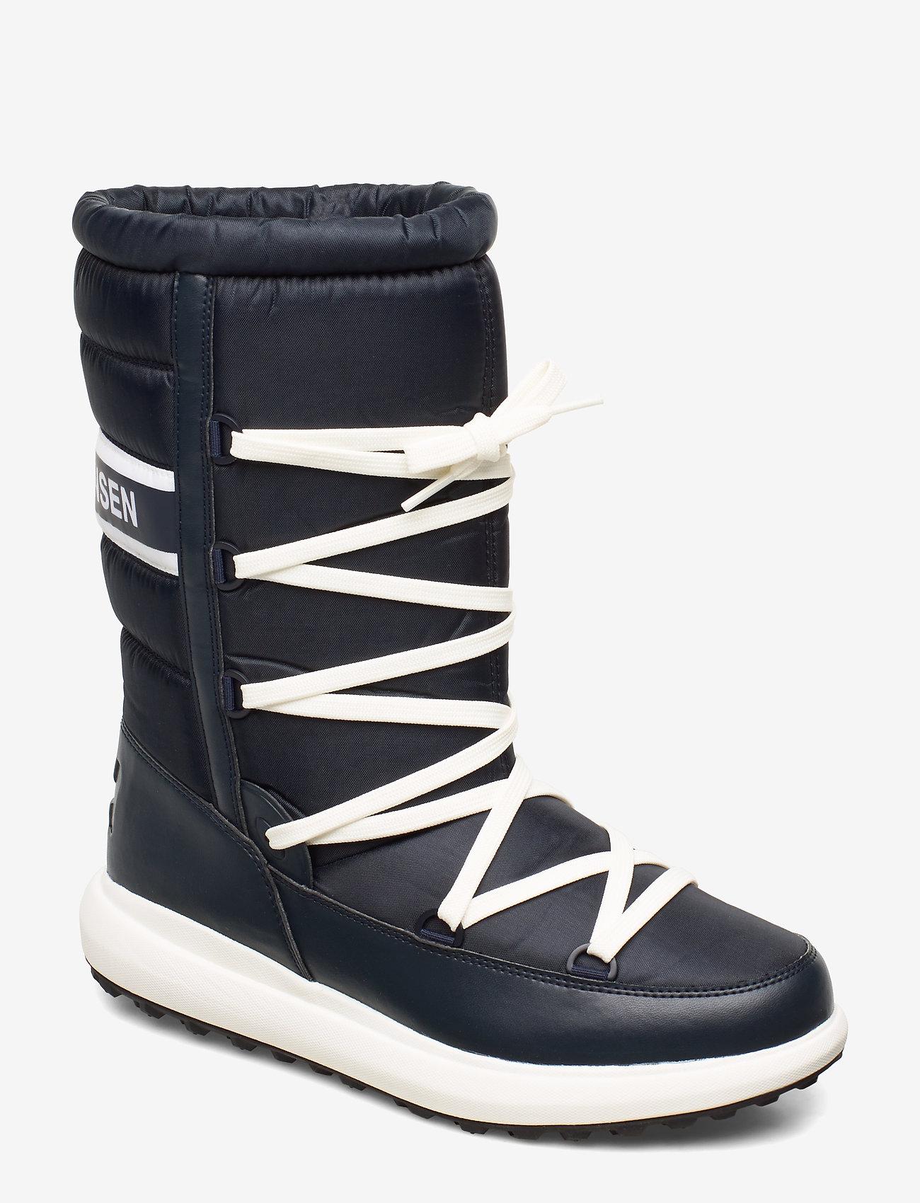 Helly Hansen - ISOLA GRAND - buty zimowe - navy / off white / black - 0