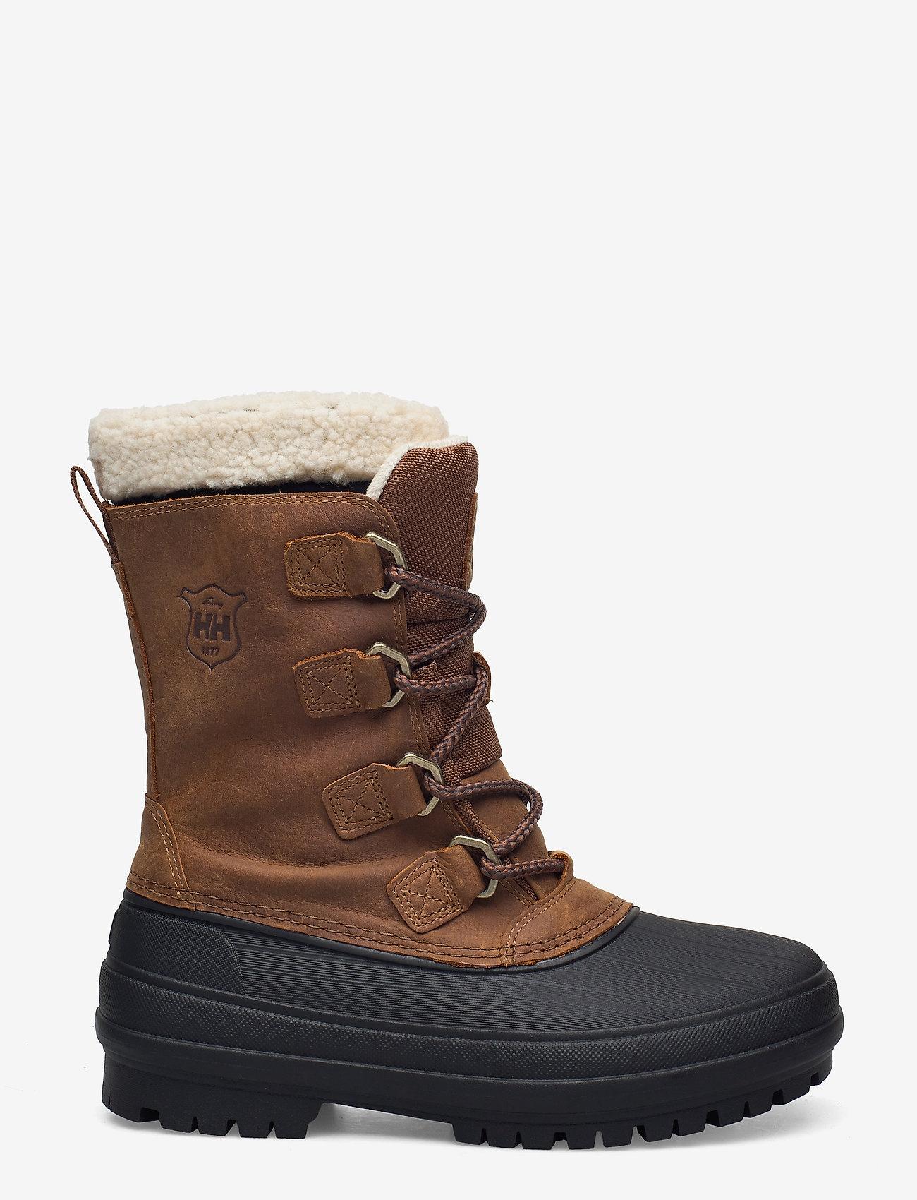 Helly Hansen - W VARANGER PRIMALOFT - flat ankle boots - 741 bistre / black - 1